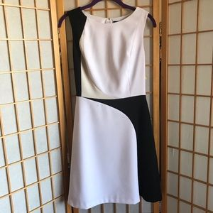 White House Black Market WHBH A-Line Dress w/ Belt